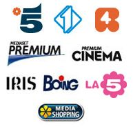 Canale 5 and the other Mediaset Channels